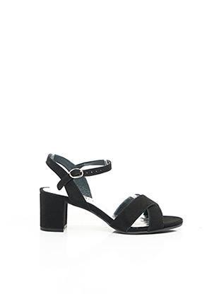 Sandales/Nu pieds noir MYMA pour femme