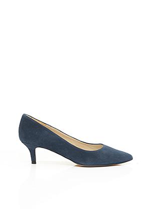 Escarpins bleu BRENDA ZARO pour femme