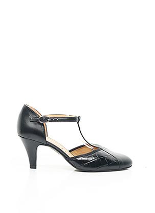 Sandales/Nu pieds noir OTESS pour femme