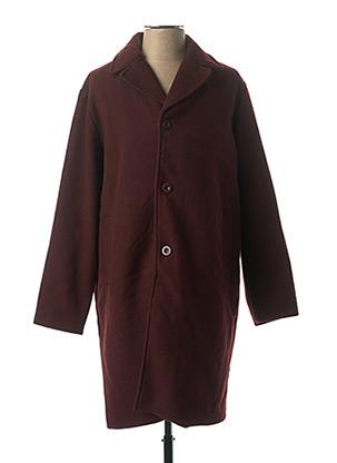 Manteau long rouge WEMOTO pour homme