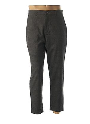 Pantalon casual gris FARAH pour homme