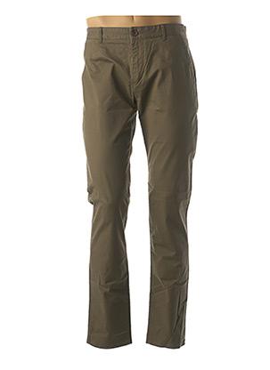 Pantalon casual vert FARAH pour homme
