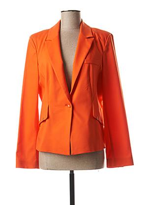 Veste casual orange EVA KAYAN pour femme