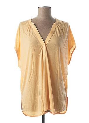 T-shirt manches courtes orange BETTY AND CO pour femme