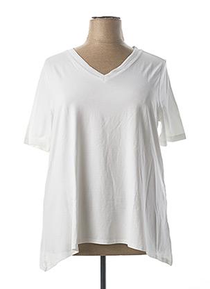 T-shirt manches longues blanc BETTY BARCLAY pour femme