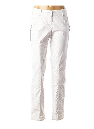 Pantalon casual blanc SPORTALM pour femme