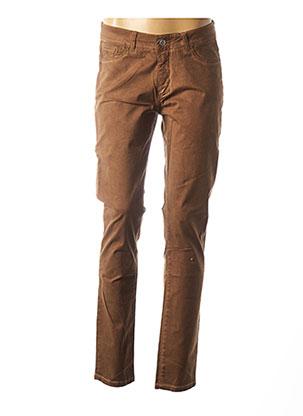 Pantalon casual marron DIPLODOCUS pour femme