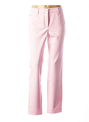 Pantalon casual rose BASLER pour femme