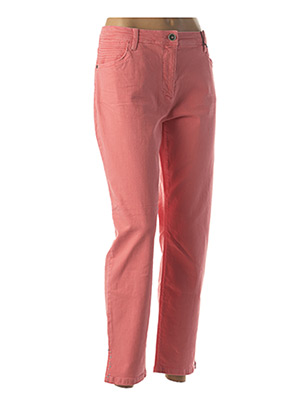 Jeans coupe droite rose BETTY BARCLAY pour femme