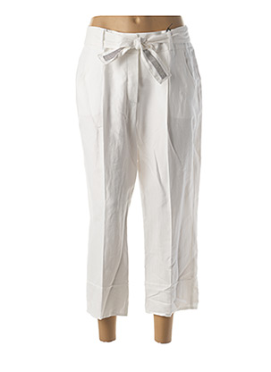 Pantalon 7/8 blanc BETTY BARCLAY pour femme