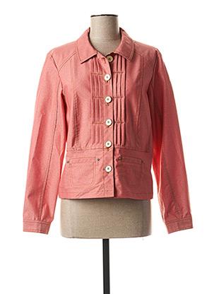 Veste casual rouge QUATTRO pour femme