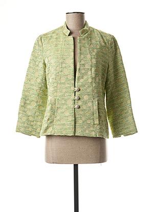 Veste casual vert QUATTRO pour femme