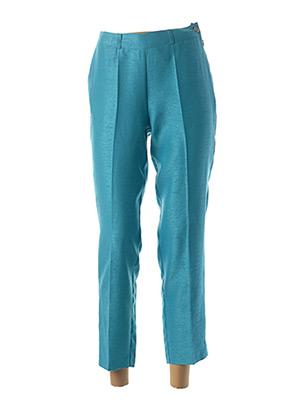 Pantalon 7/8 bleu QUATTRO pour femme