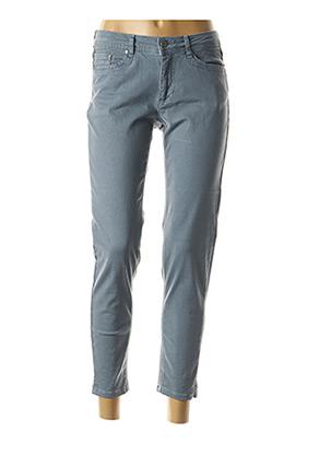 Pantalon 7/8 bleu JENSEN pour femme