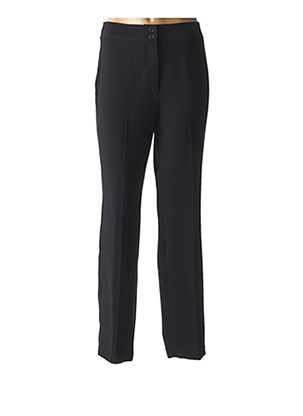 Pantalon casual bleu BARBARA LEBEK pour femme