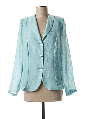 Veste casual bleu FRANCE RIVOIRE pour femme
