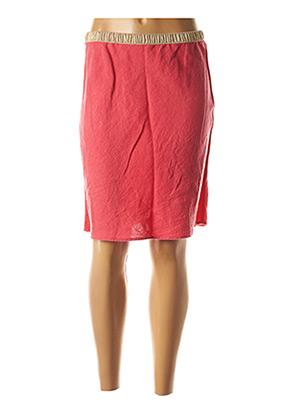 Jupe mi-longue rose HARTFORD pour femme