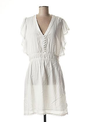 Robe mi-longue blanc VANESSA BRUNO pour femme