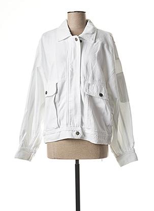 Veste en jean blanc AMERICAN VINTAGE pour femme