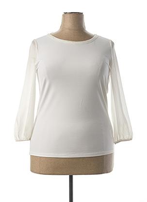 Blouse manches longues blanc ESPRIT pour femme