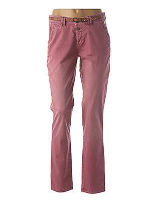Pantalon chic rose ESPRIT pour femme