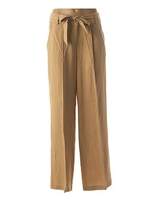 Pantalon casual beige ESPRIT pour femme