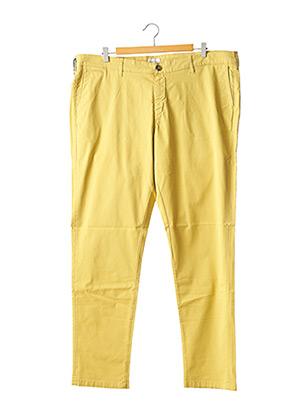 Pantalon casual jaune SERGE BLANCO pour homme