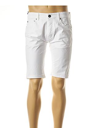 Bermuda blanc SERGE BLANCO pour homme