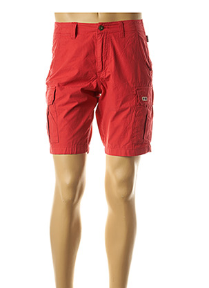 Bermuda rouge NAPAPIJRI pour homme
