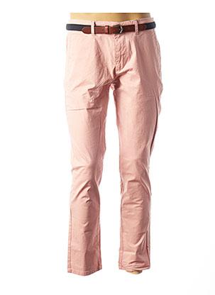 Pantalon casual rose SELECTED pour homme