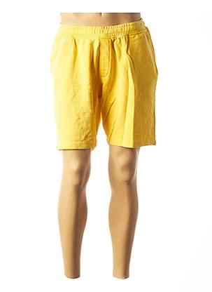 Short jaune SELECTED pour homme