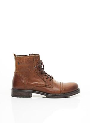 Bottines/Boots marron JACK & JONES pour homme