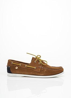 Chaussures bâteau marron FAGUO pour homme
