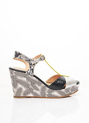 Sandales/Nu pieds noir CRÉATIS pour femme