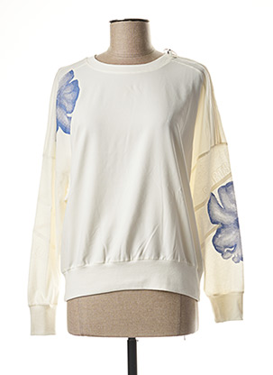 Sweat-shirt beige MARC CAIN pour femme