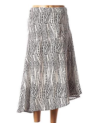 Jupe longue noir LINU BY CLP pour femme