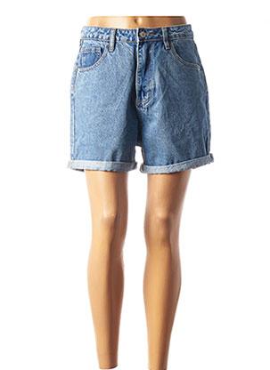 Short bleu CLP pour femme