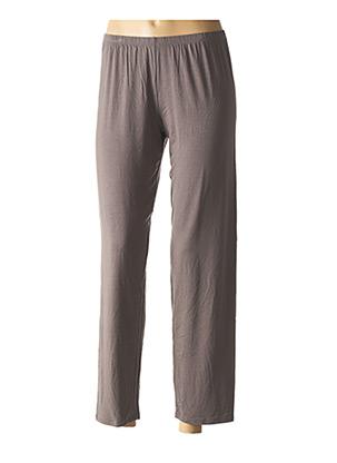 Pyjama gris ANTIGEL pour femme