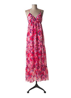 Robe longue rose GERARD DAREL pour femme