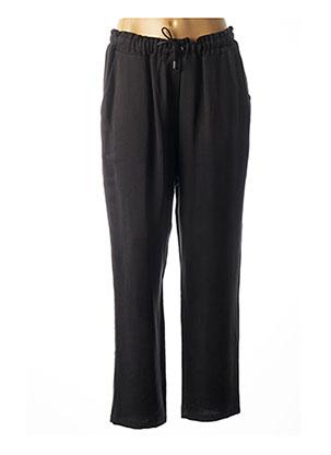 Pantalon casual noir EXETERA pour femme