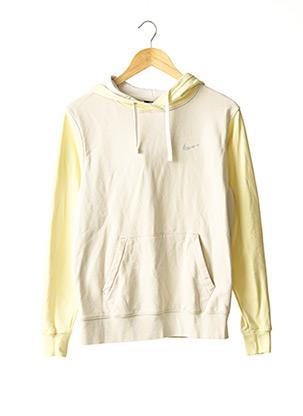 Sweat-shirt jaune NIKE pour femme