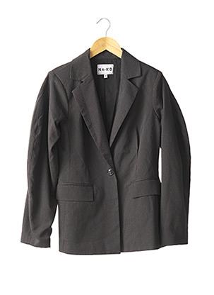 Veste chic / Blazer gris NA-KD pour femme