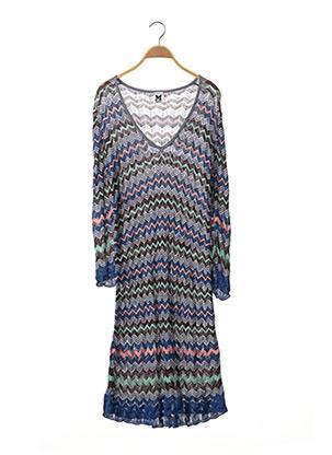 Robe pull bleu MISSONI pour femme