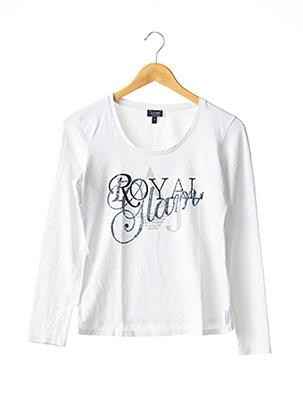 T-shirt manches longues blanc ARMANI pour femme