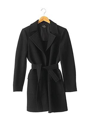 Manteau long noir ALBERTO BIANI pour femme